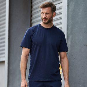T-Shirt bedrucken besticken schwarz