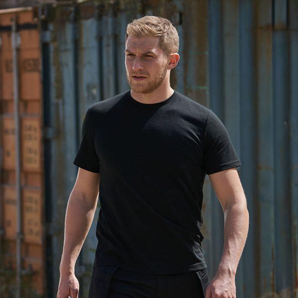 T-Shirt bedrucken schwarz