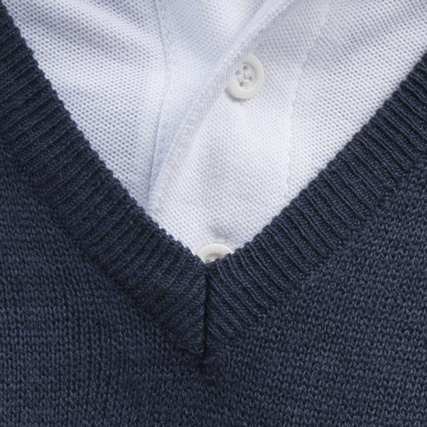 Security Sweatshirt Pullover besticken bedrucken Detail