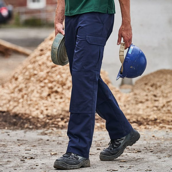 Arbeitshose lang Männer blau